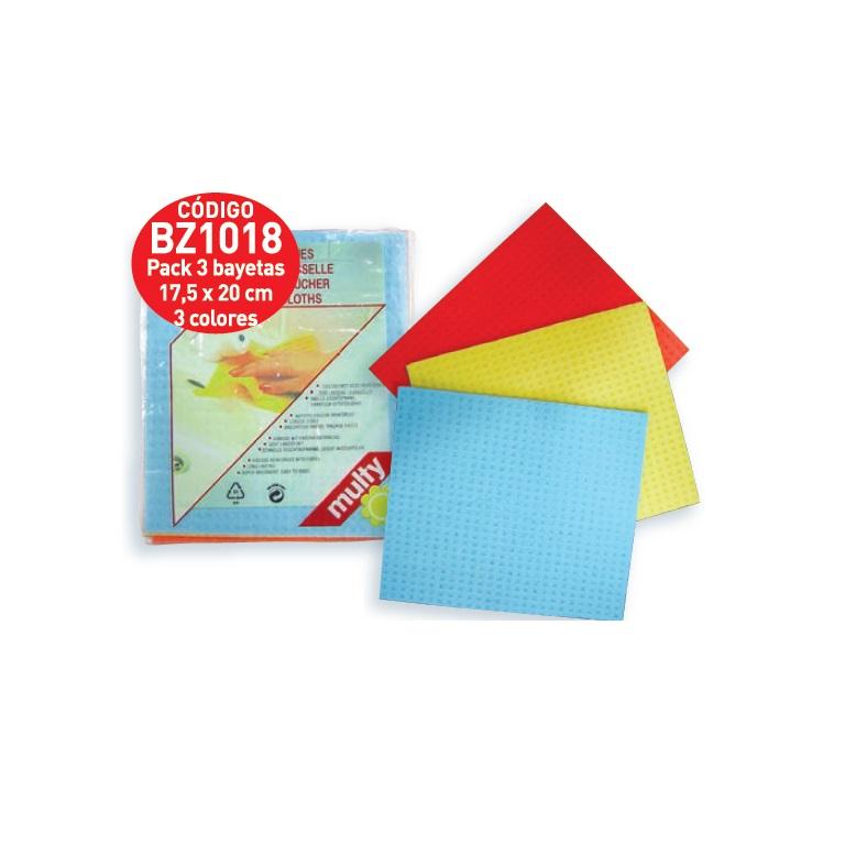 Pack de 1 Limpieza Vileda Professional PVA Micro Paño 3 y 5 Bayetas Colores